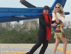 Victor e a falsa Paris Hilton